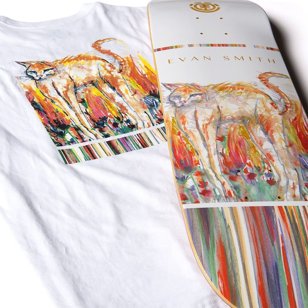 Piper Pages series by Element Skateboards x Piper Lewine