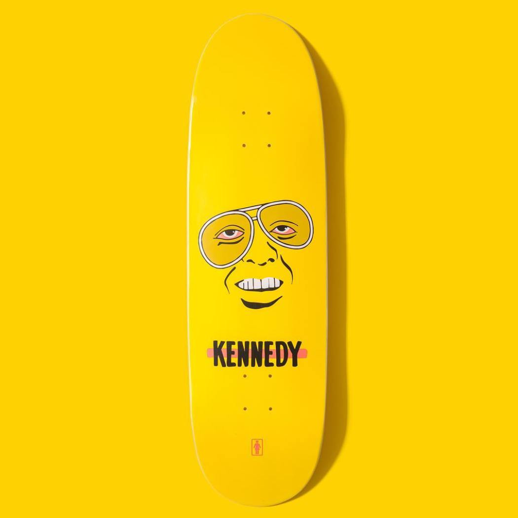 New Cory Kennedy one-off deck
