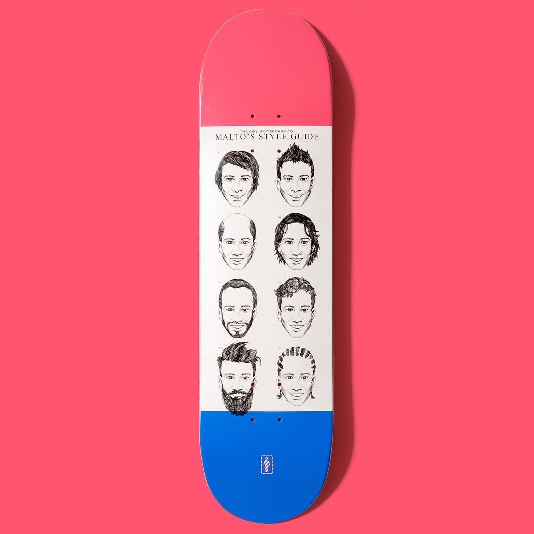 Sean Malto's new one-off deck
