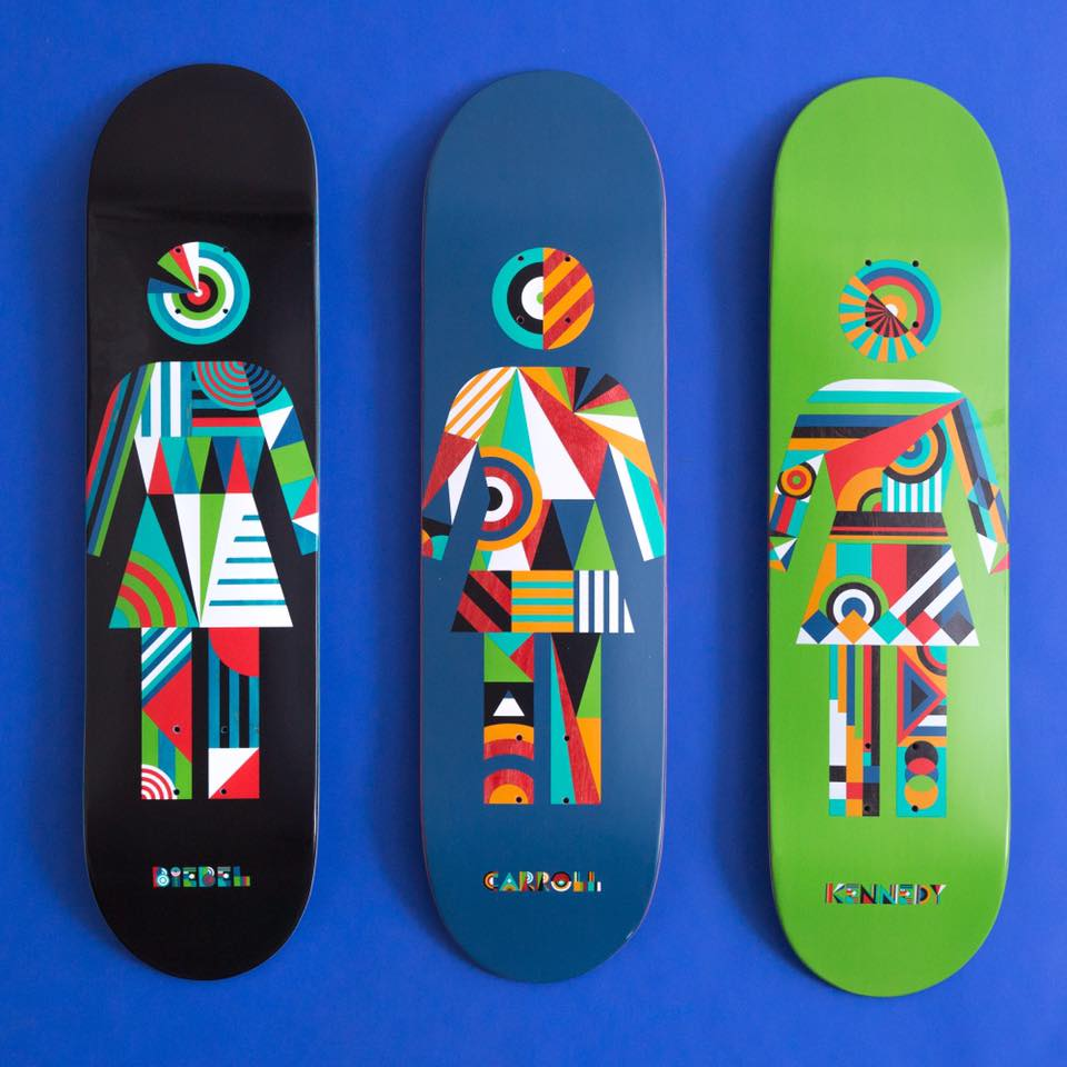 Constructivist OG series by Girl Skateboards