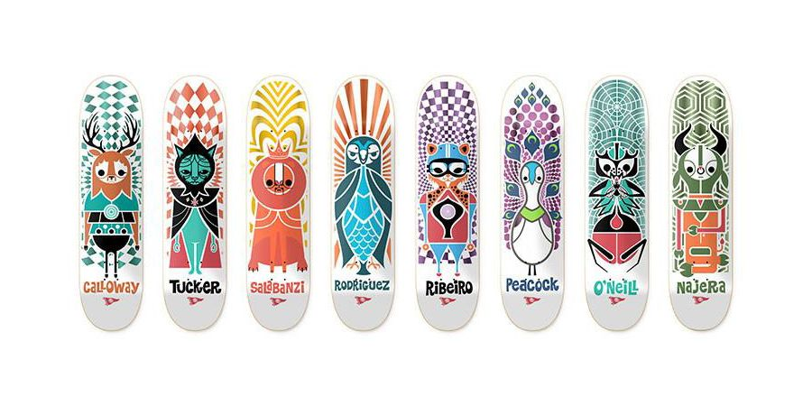 The Pendleton Zoo by Pendleton x Primitive Skateboards
