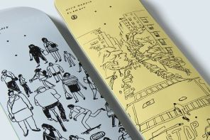 Sketch series par Nat Russell x Element Skateboards