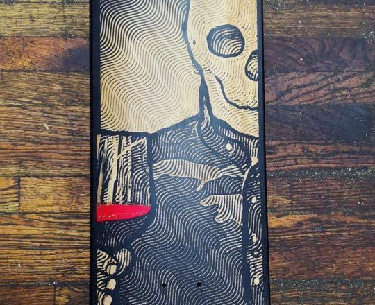 First Laser Engraved Board By Maldito Juanito