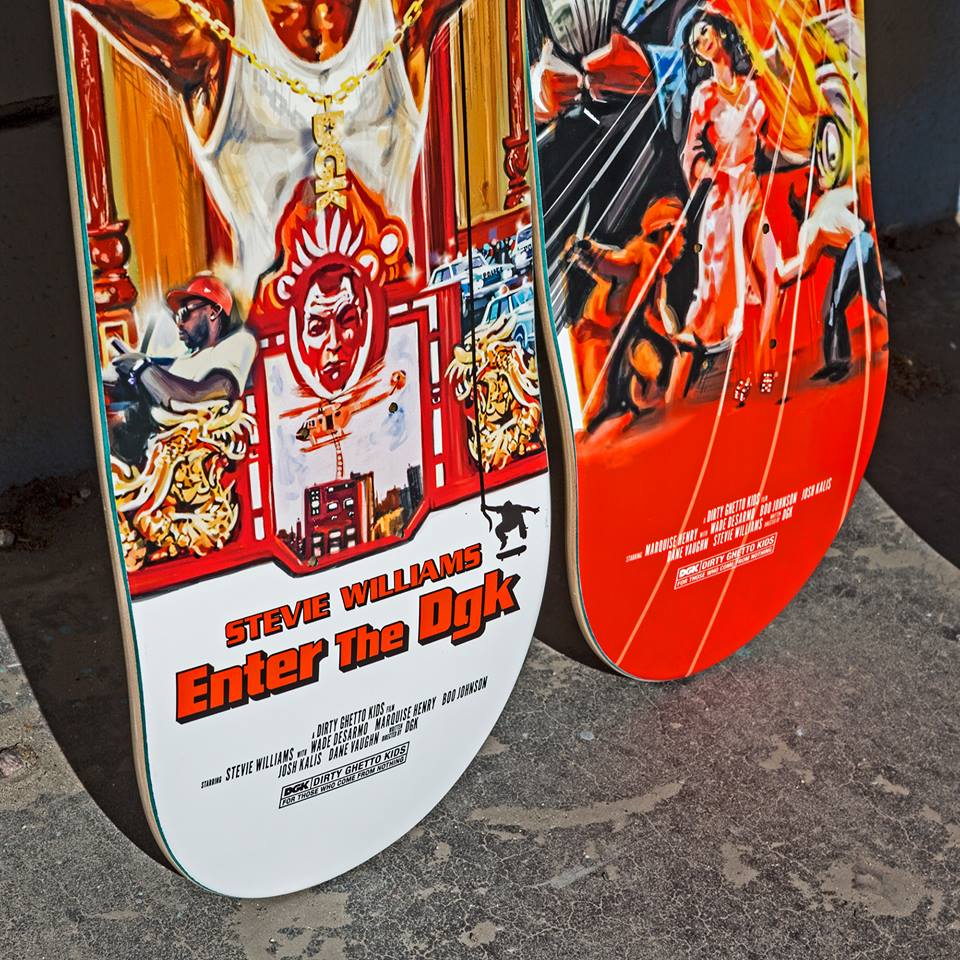 Kung Fu Series Dgk Skateboards 8