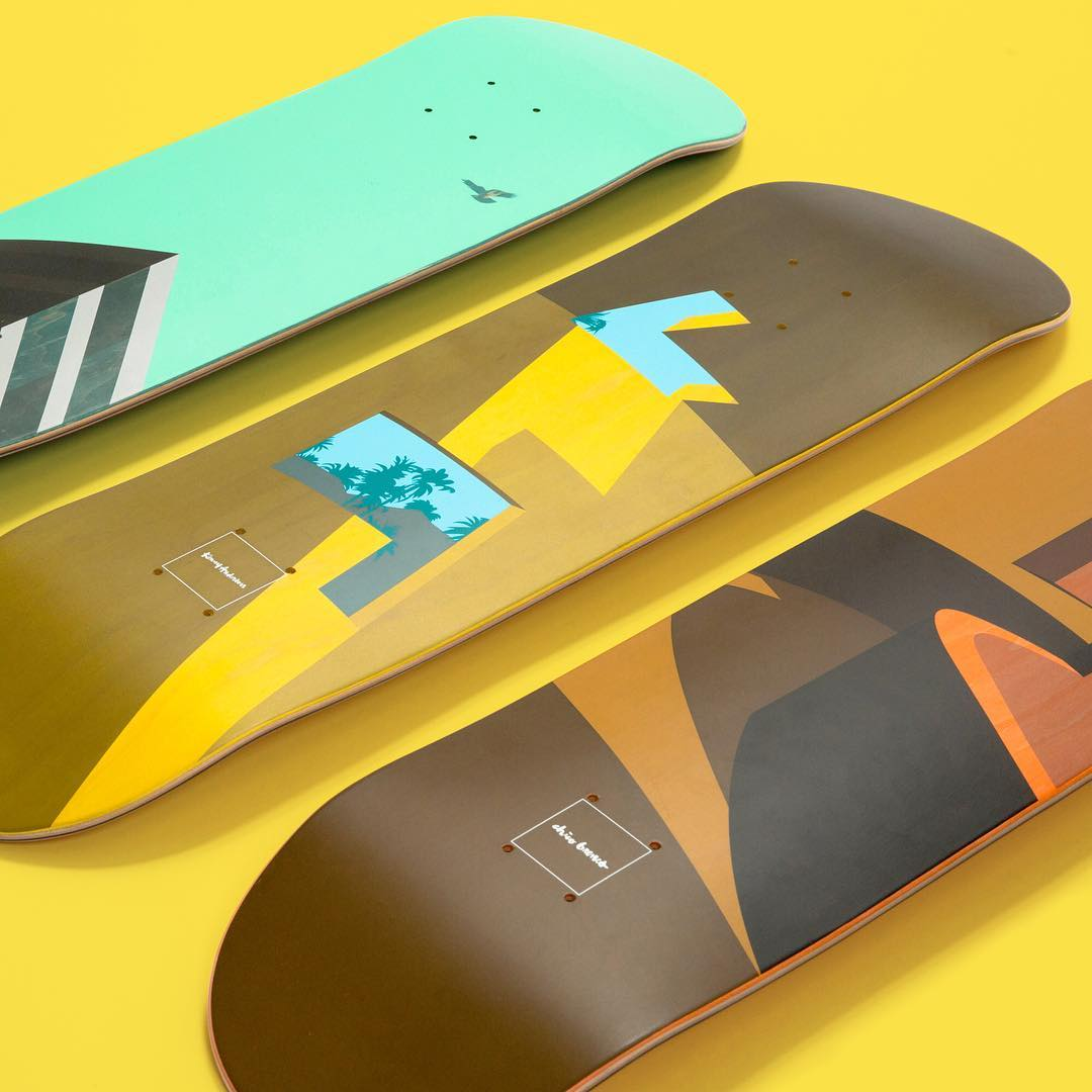 Minimalism Series Chocolate Skateboards 5