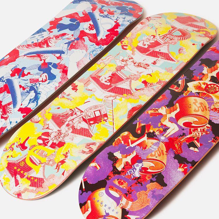 Chill Dosu Taiko By Evisen Skateboards 1