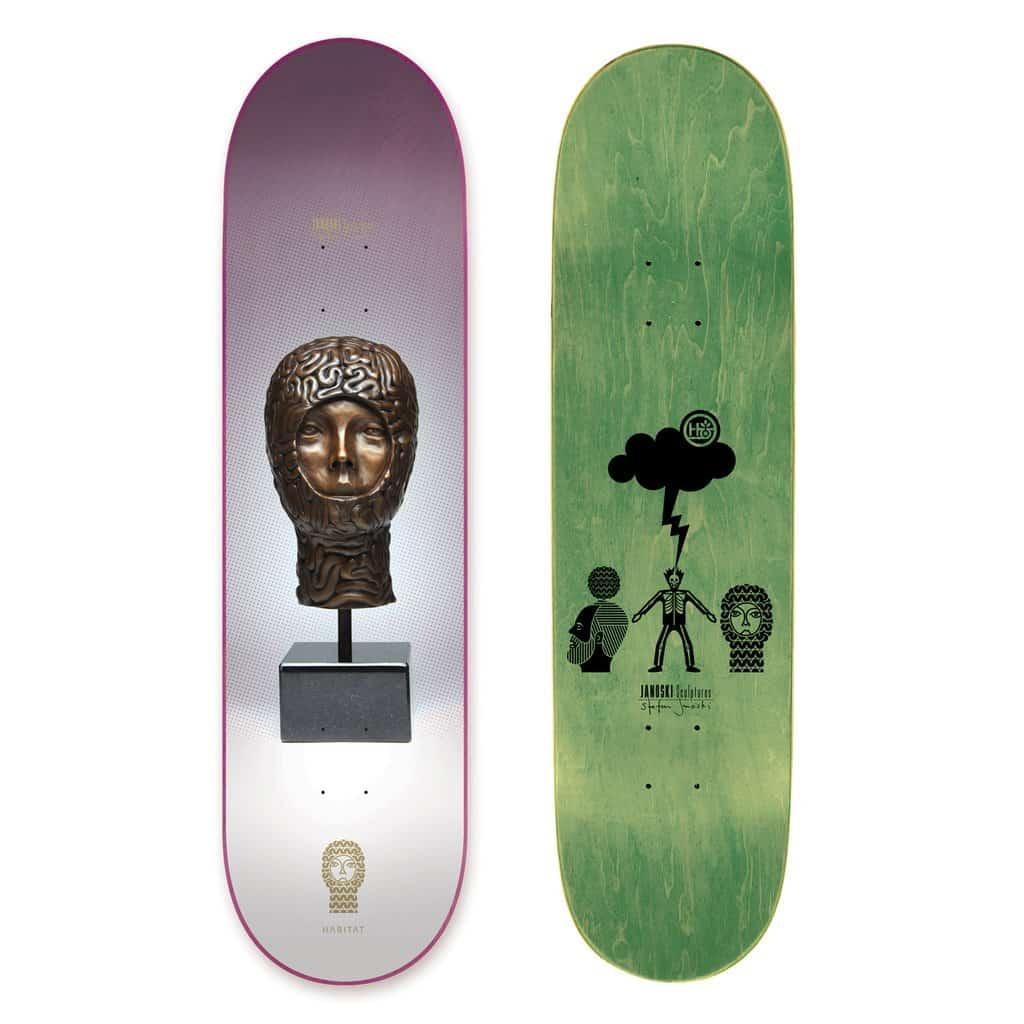Janoski Sculptures By Stephen Janoski Habitat Skateboard 8