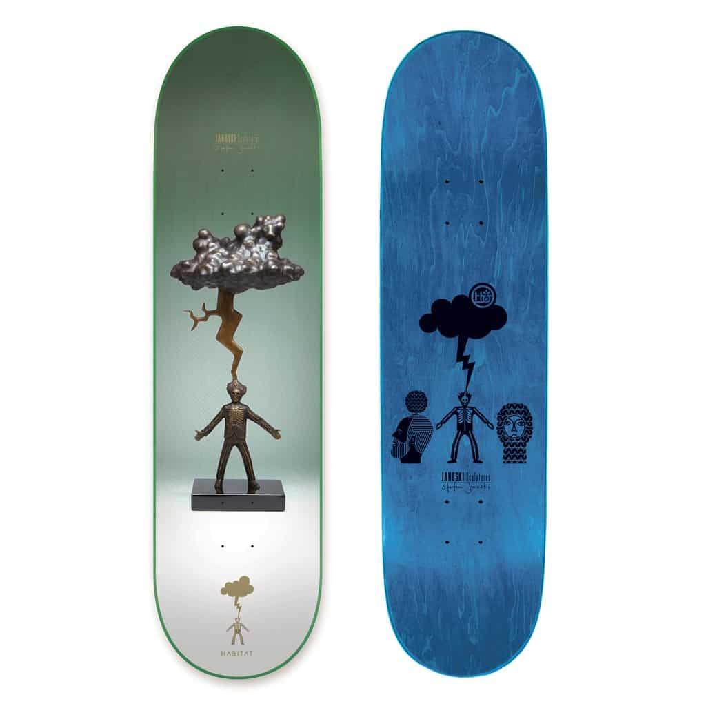 Janoski Sculptures By Stephen Janoski Habitat Skateboard 9