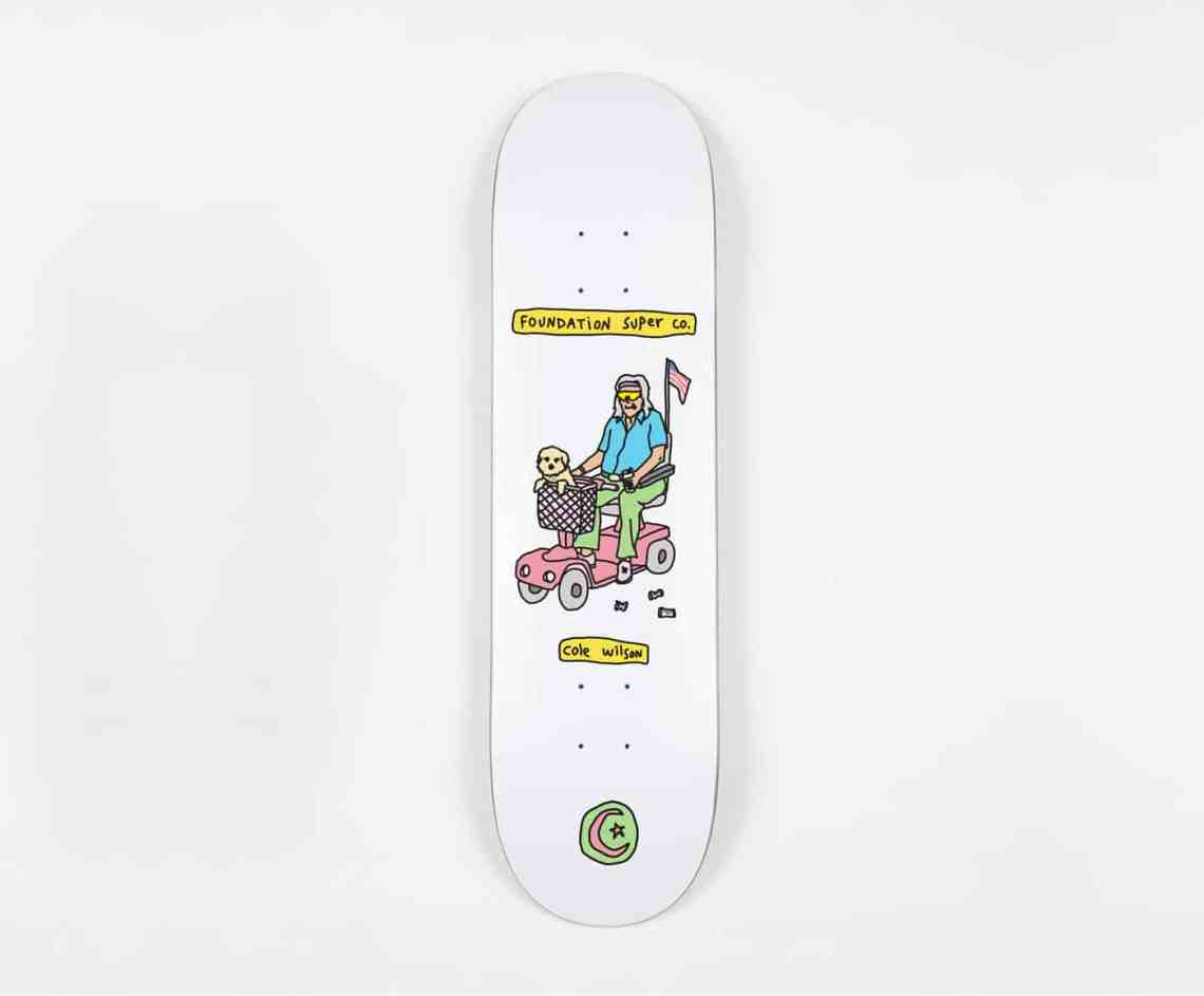 Fondation Brother Merle Skateboards 3