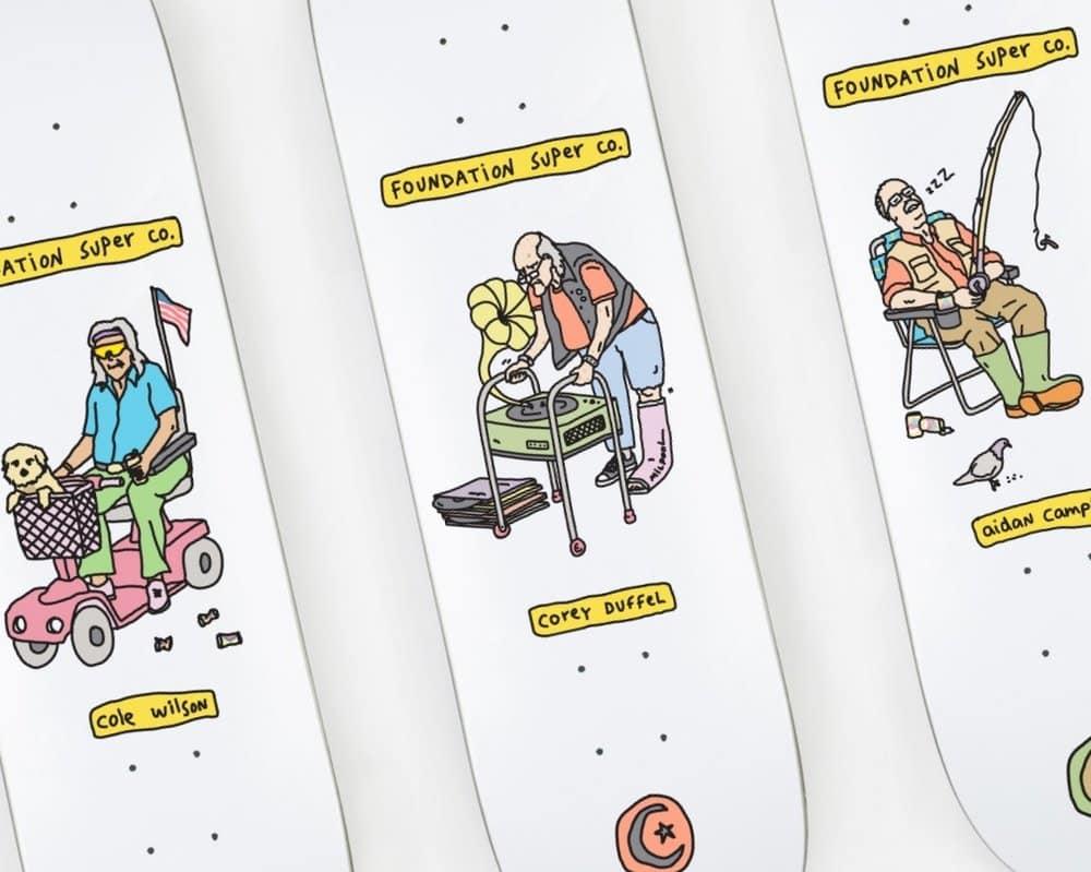 Fondation Brother Merle Skateboards 5