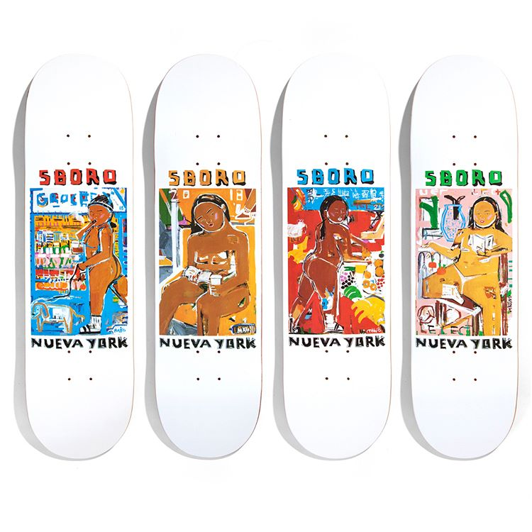 Monica Kim Garza 5boro Skateboards 3