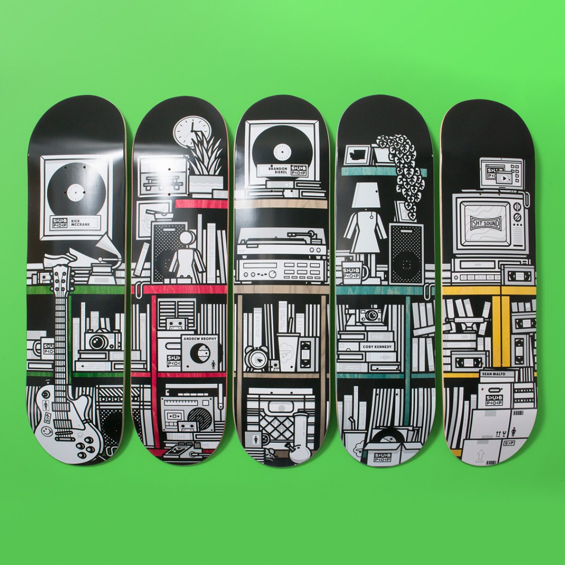The Girl Sub Pop Series By Sasha Barr Girl Skateboards 6