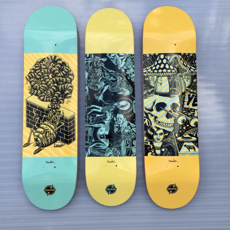 Mander Chrononaut Skateboards 3