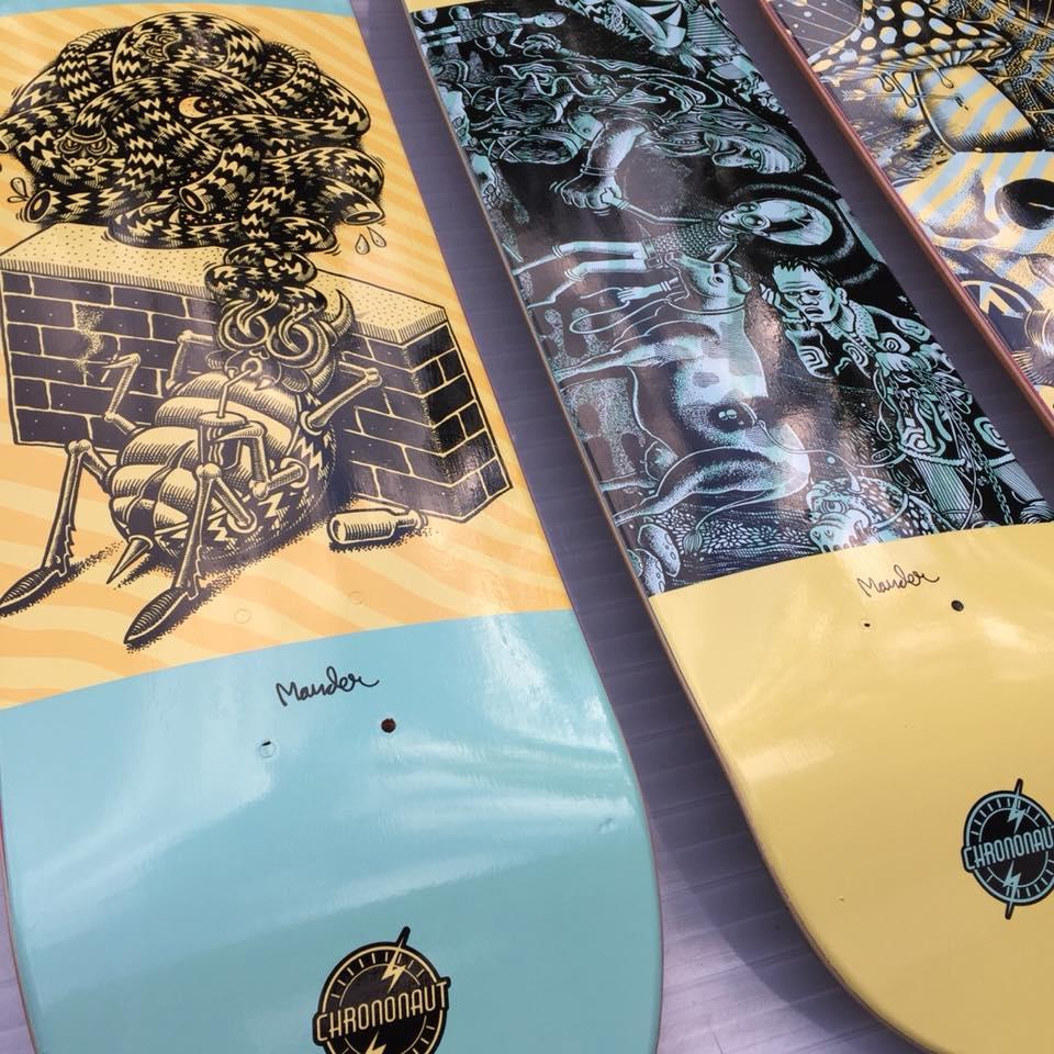 Mander Chrononaut Skateboards 4