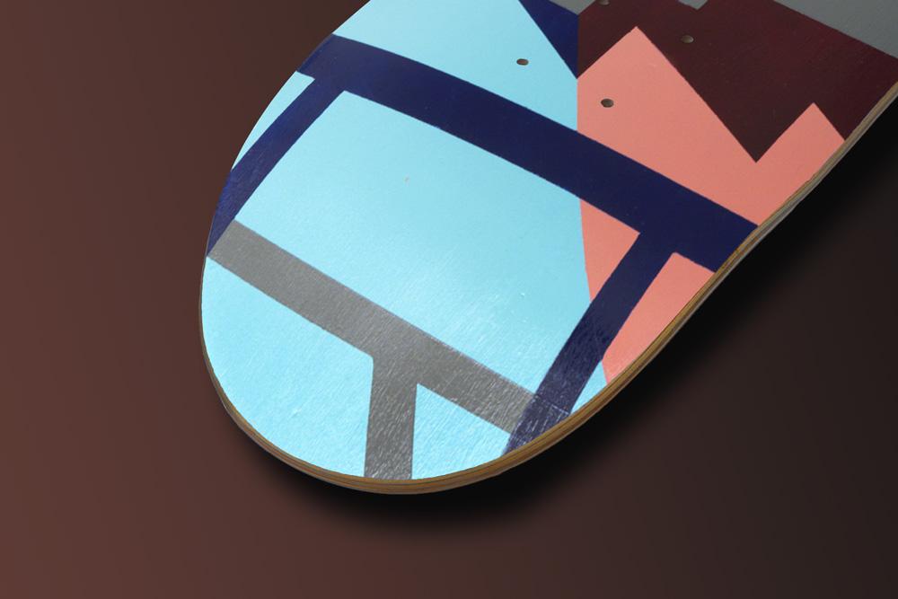 Maria Giemza Skateboard Deck 1
