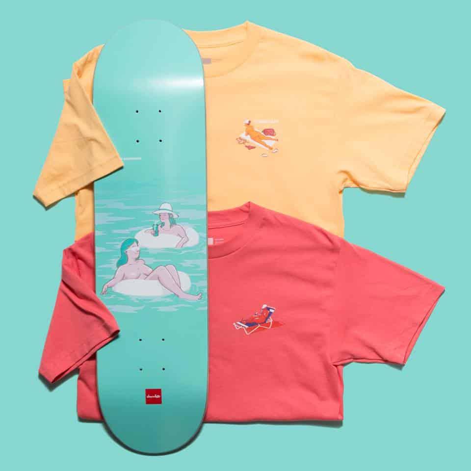 Sunbather Series Chocolate Skateboards 8