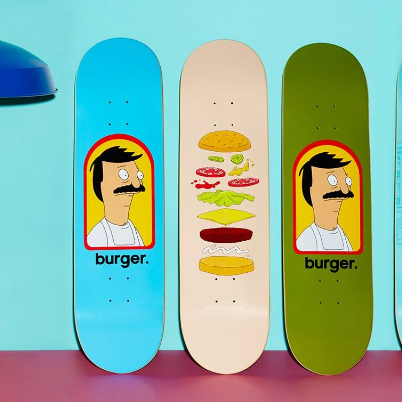 Bobs Burger Habitat Skateboards 3