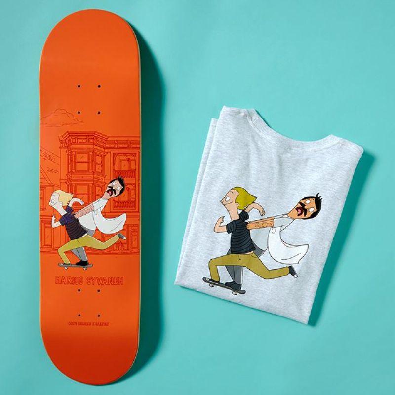 Bobs Burger Habitat Skateboards 5