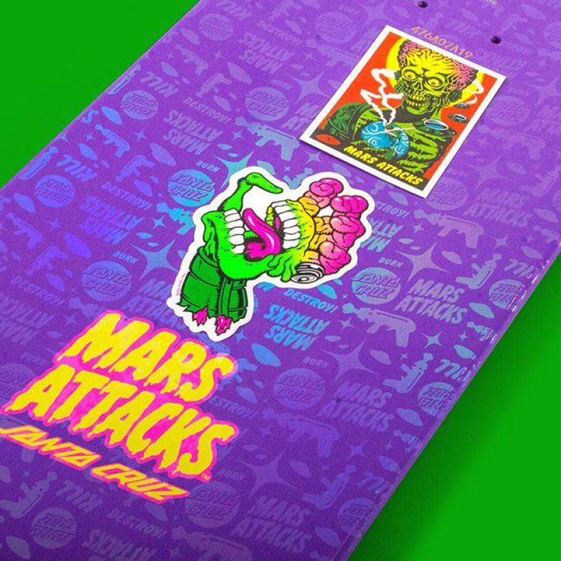 Mars Attack Santa Cruz Skateboard 21
