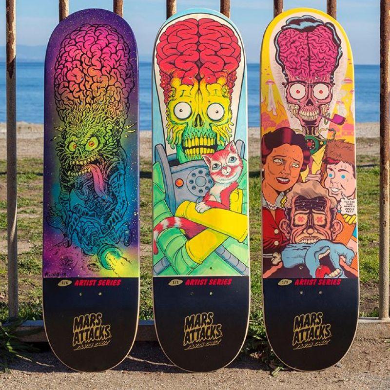 Mars Attack Santa Cruz Skateboard 25