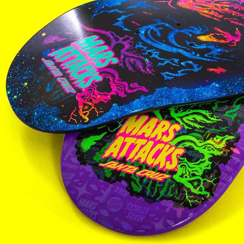 Mars Attack Santa Cruz Skateboard 31