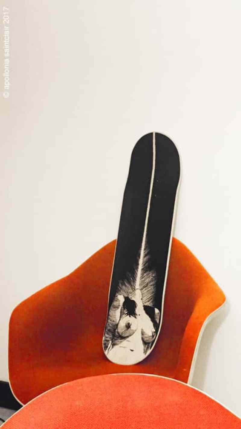 Apollonia Saintclair Skateboard Deck3