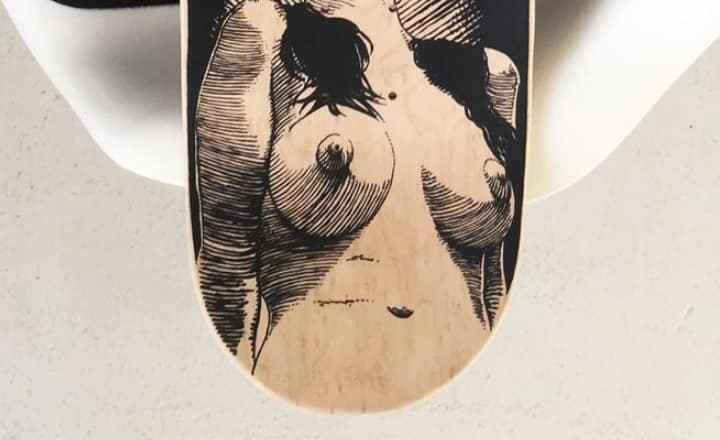 Apollonia Saintclair Skateboard Deck4