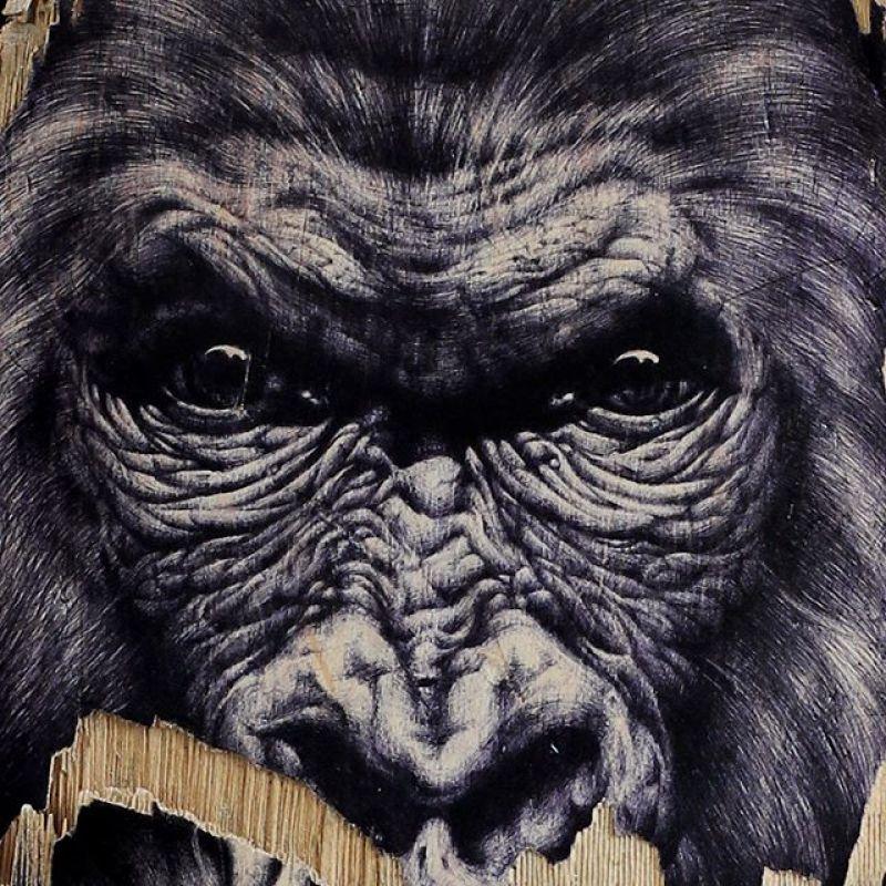 Gorilla Skateboard By Skraal 3