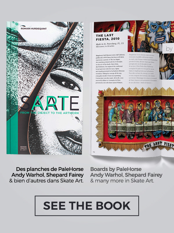 Skate Art Book Website