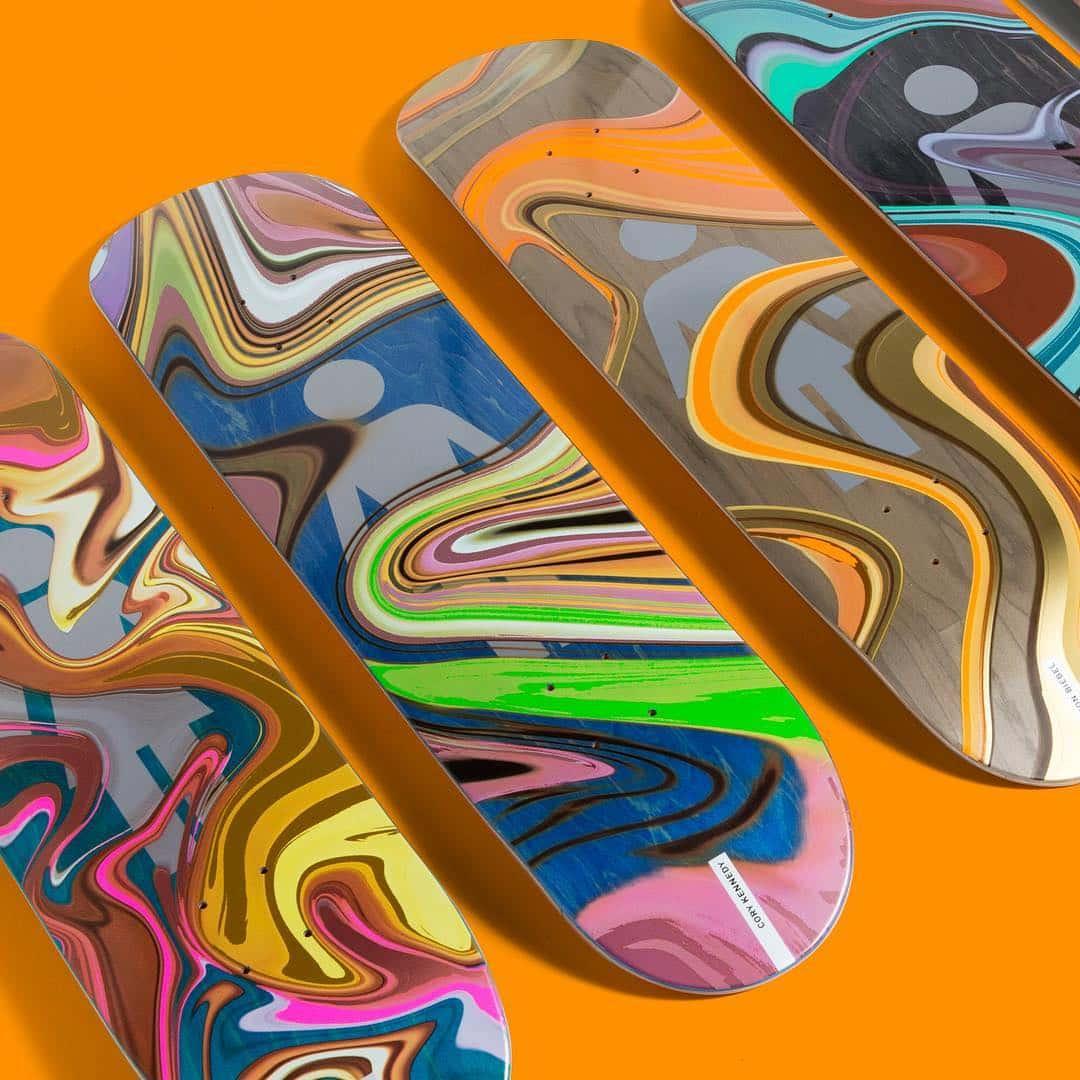 Oil Slick Series By Girl Skateboards 3