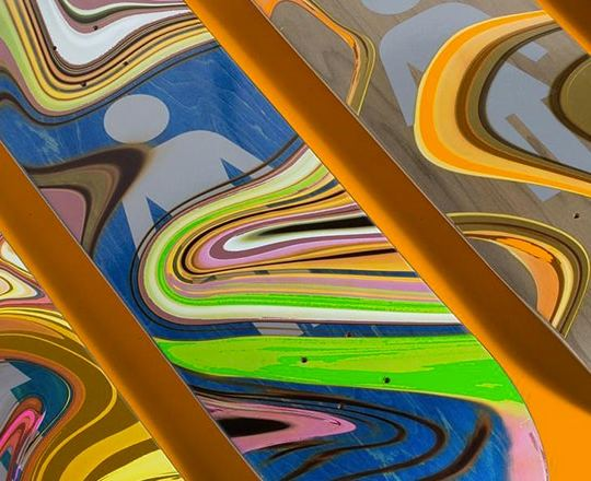 Oil Slick Series By Girl Skateboards