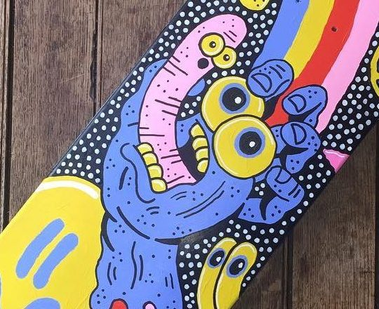 Sam Taylor Custom Board For Santa Cruz Skateboards 3