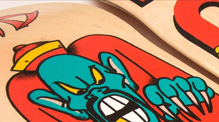 Kid Nowe Skate Deck