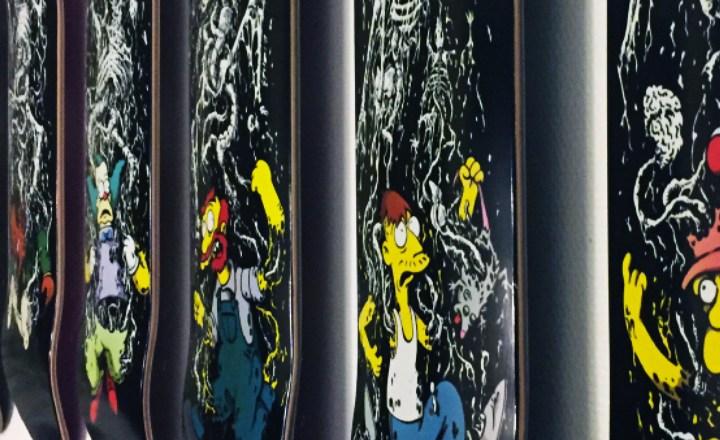 Springfield Massacre By Zero Skateboards