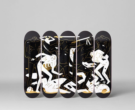 The Crawlers Series Cleon Peterson The Skateroom (4)