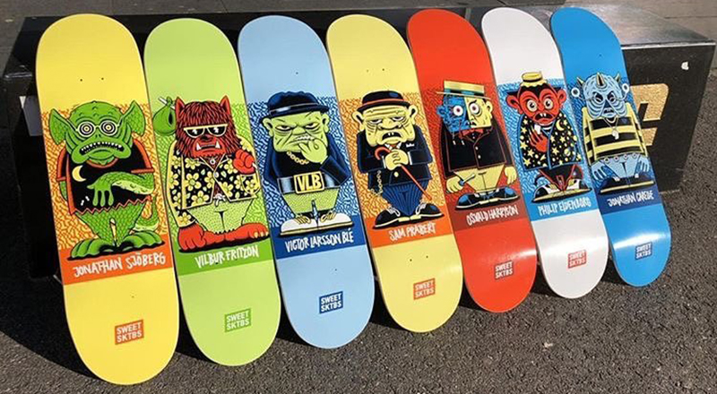 Character Series By Mander Sweet Skateboards 8