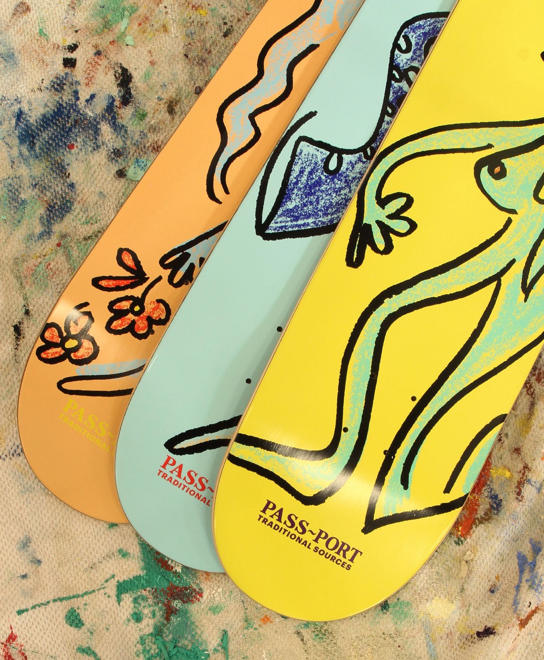 Drunk At Your Wedding Series By Pass Port Skateboards 1