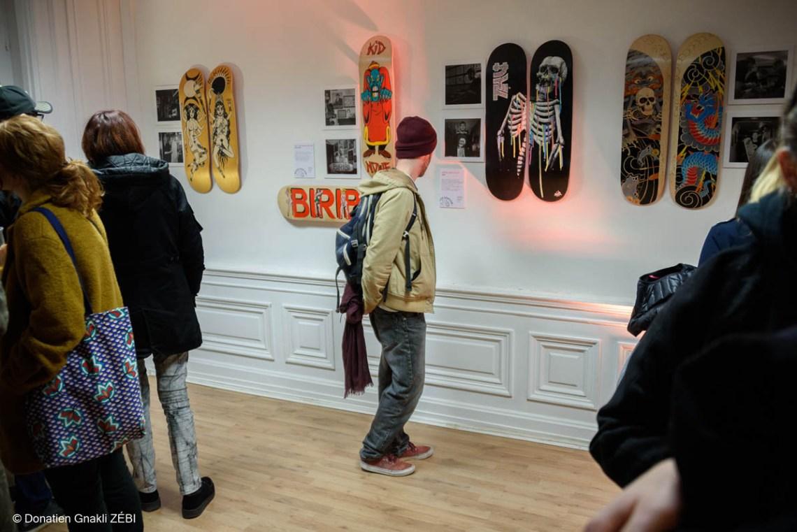 Skate Station 002 Inking Board Vernissage 11