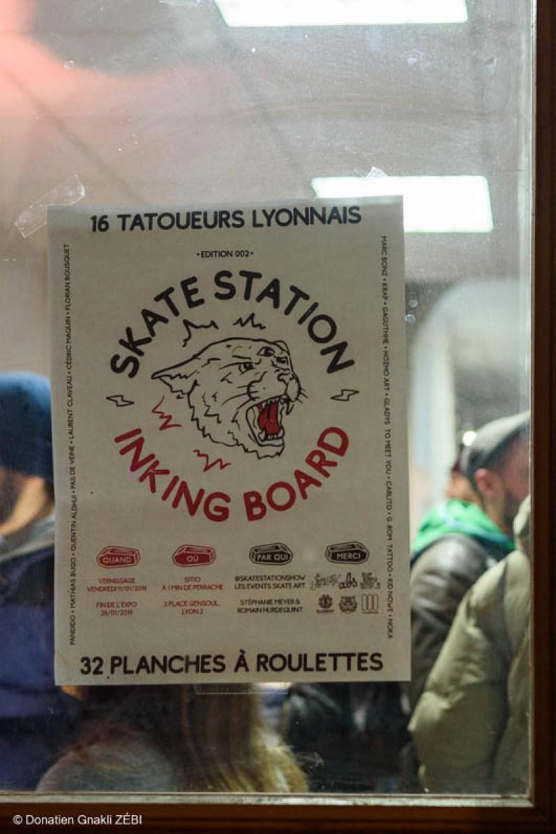 Skate Station 002 Inking Board Vernissage 20