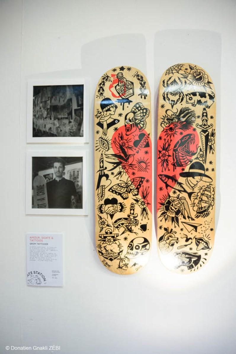 Skate Station 002 Inking Board Vernissage 41