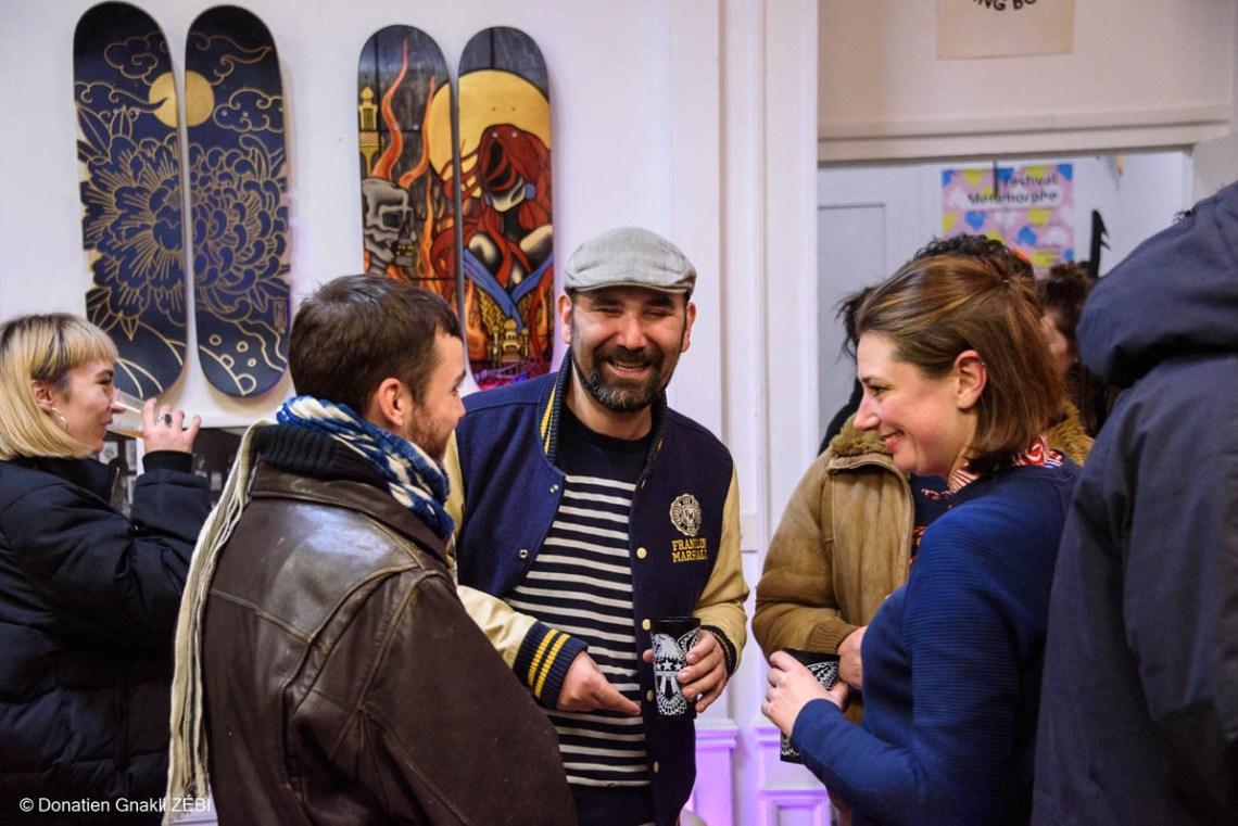 Skate Station 002 Inking Board Vernissage 44