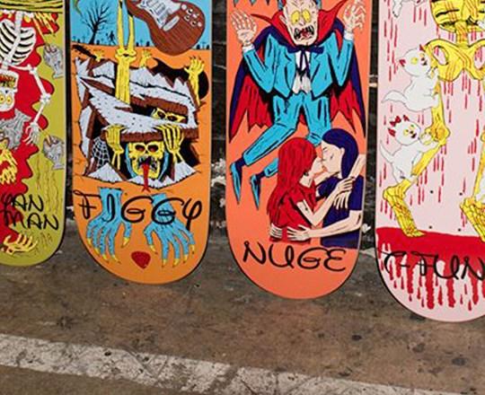 Ways To Die Series By Jj Villard Baker Skateboards 1