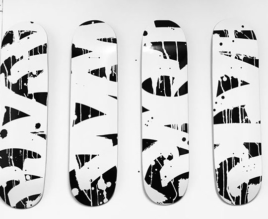 Contraband Skateboards By Brice Gelot 1