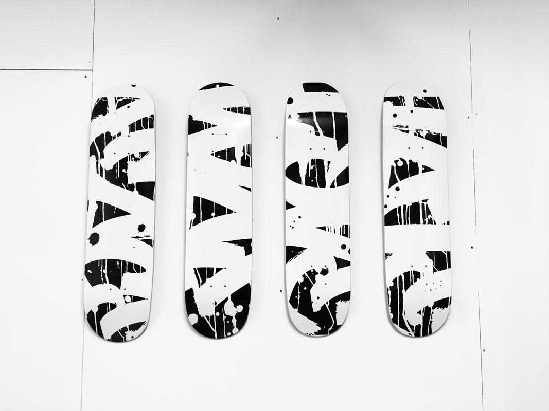 Contraband Skateboards By Brice Gelot 2