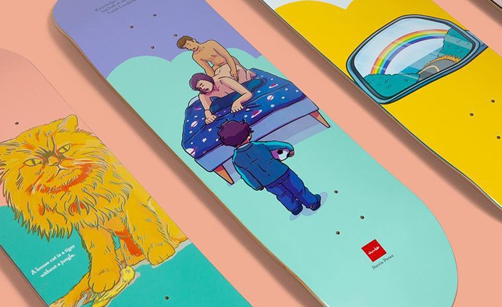 Epiphany Series By Donta Santistevan Chocolate Skateboards 1