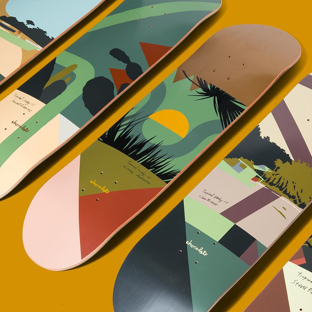 Evan Hecox Chocolate Skateboards 1