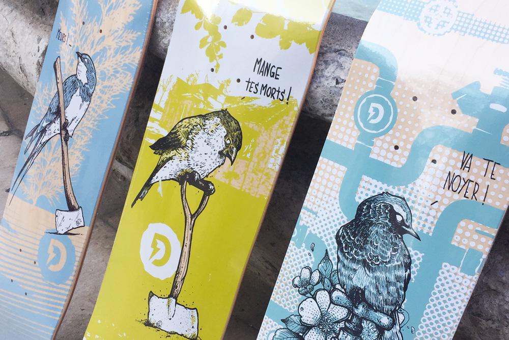Lo Series By Laurent Claveau Doble Skateboards 3