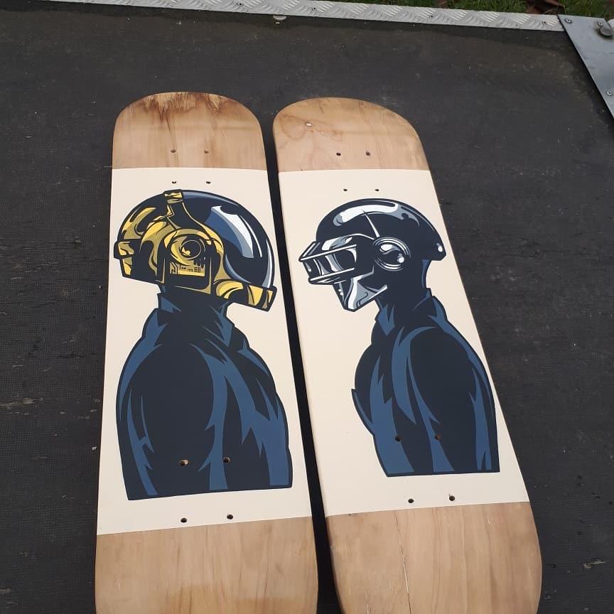 Daft Punk By Ze Toon 1