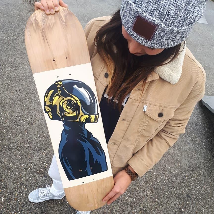 Daft Punk By Ze Toon 2