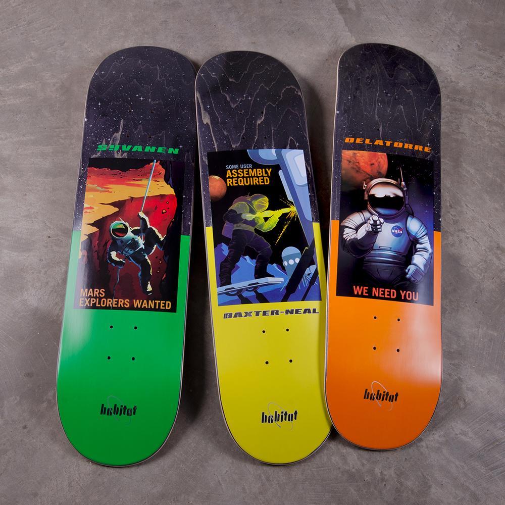 Nasa Collection Habitat Skateboards 4